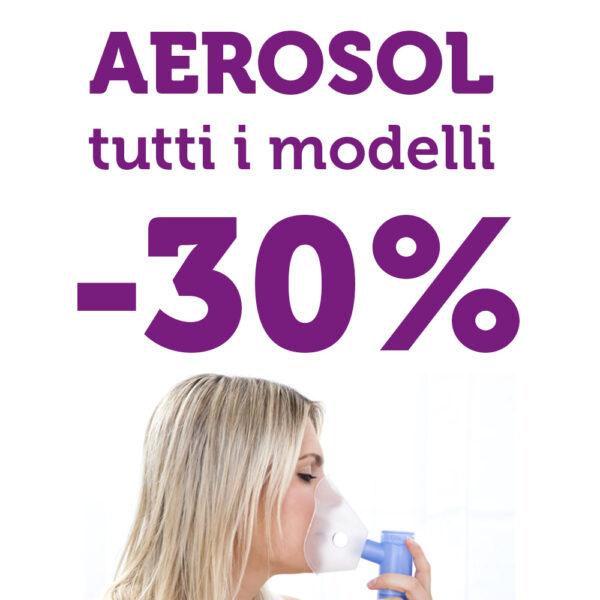 Aerosol tutti i prodotti -30%