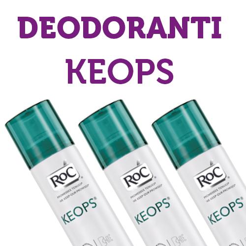 Deodoranti Keops